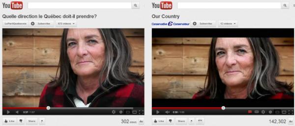 La même femme utilisée dans des publicités de différents