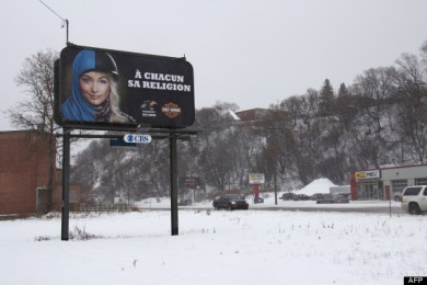 CANADA-QUEBEC-RELIGION-ADVERTISING
