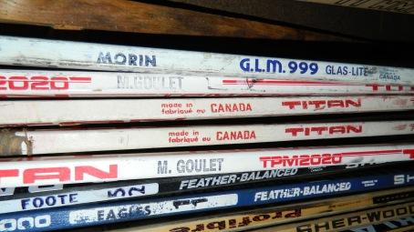Mike Eagles # 11, Adam Foote # 52, Michel Goulet # 16 (2 fois), Stéphane Morin