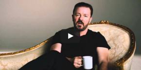 Vidéo: Ricky Gervais a absolument aucune envie d'êtrelà!